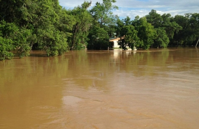 GWR Water Well & Windmill Service - Santa Fe, TX. Our property completely under water 2016 flood