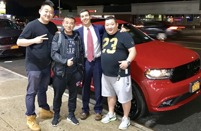 Bayside Chrysler Jeep Dodge - Bayside, NY. A group of great guys buying a new Dodge Durango from Bayside CJD.