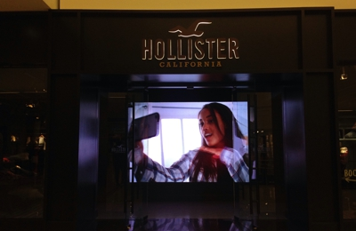 Hollister - Glendale, CA. New entrance