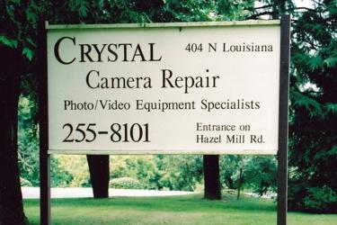 Crystal Camera Repair