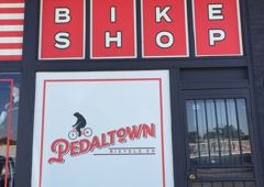 Pedaltown Bicycle Company - Memphis, TN. Pedaltown Bicycle Company store front