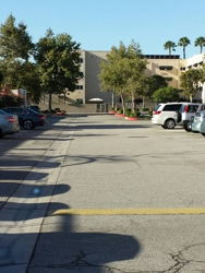 Plenty of parking spaces