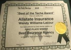Wendy Williams-Lacour: Allstate Insurance - New Iberia, LA