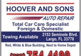 Hoover And Sons Auto Repair LLC - Largo, FL