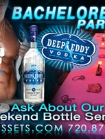 Bachelorette Bottle Service Package $169