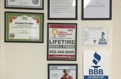 Lifetime Moving and Storage - Phoenix, AZ