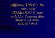 Jefferson Title Company - Metairie, LA