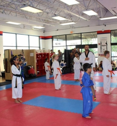 Kh Kim Taekwondo - Plainfield, IL. The main training area