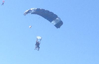 Parachute Center - Acampo, CA. Crazy fun ride