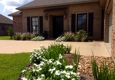 Taylorscapes - Forest Hill, LA. Bartell Residence: drainage, beds, sod, designed & installed by TaylorScapes.