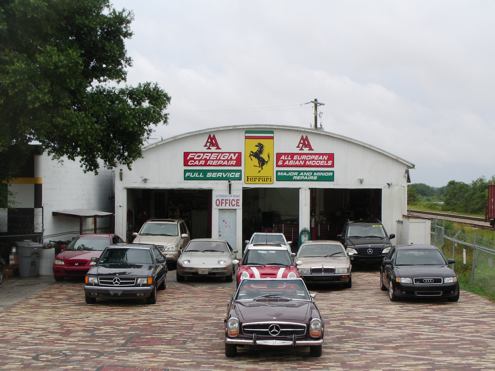 A A Foreign Car Repair 2203 N Ponce De Leon Blvd Saint Augustine