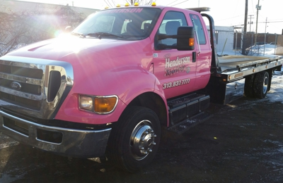 Henderson Towing Inc. HENDERSON TOWING. 313-837-7777. You've called the rest, now please call THE BEST.