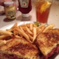 Conrad's Restaurant - Glendale, CA. Reuben with fries