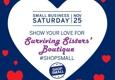 Surviving Sisters' Boutique - Hyde Park, NY. #SmallBusinessSaturday 2017 at #SurvivingSistersBoutique #ShopSmall & Large!