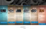 Karay Metals, website design built on WordPress