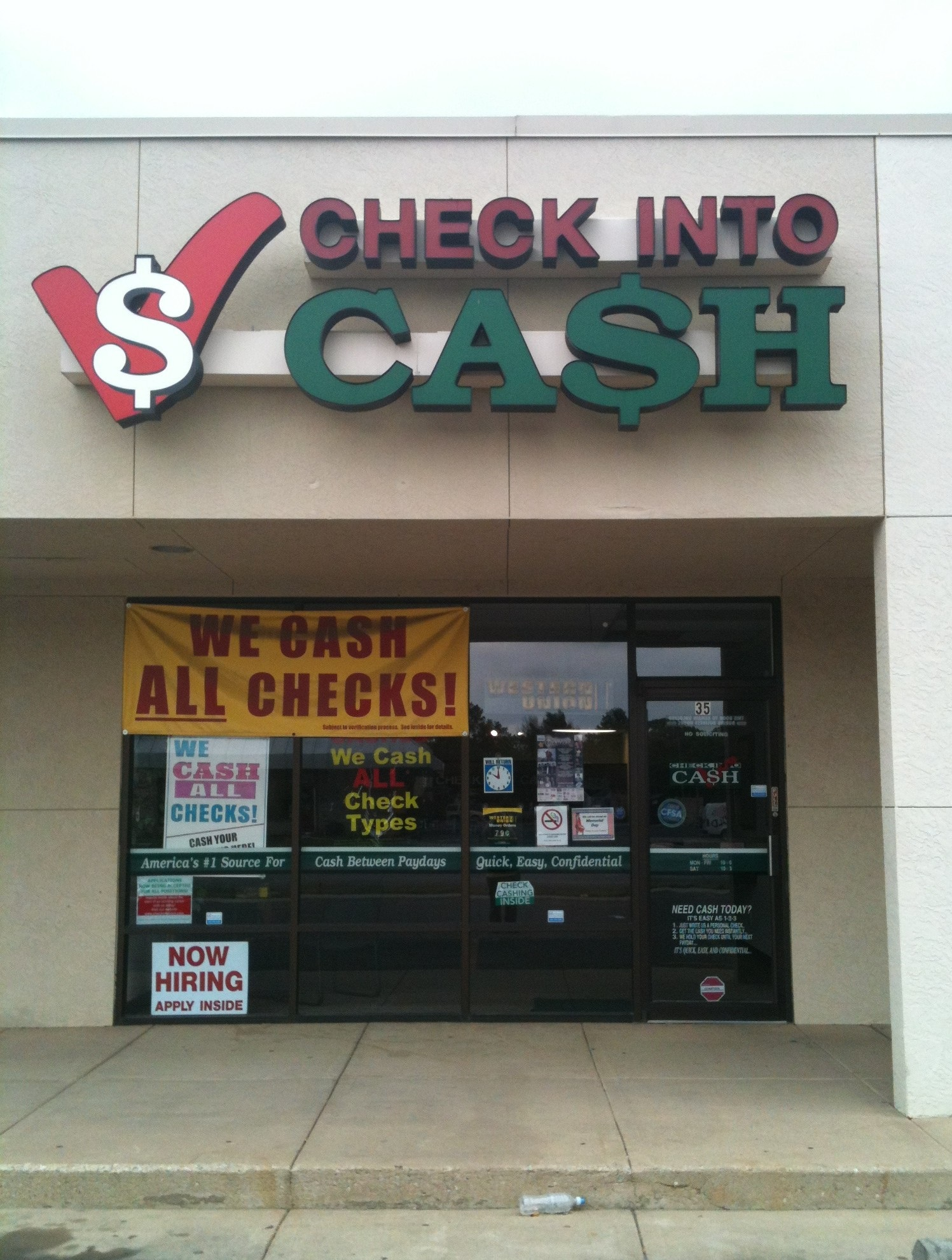 Payday loans night photo 8