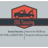 205 Towing and tires. Llc