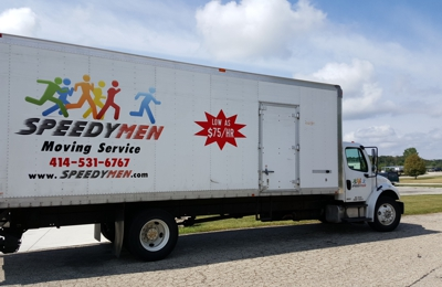 Speedymen Moving & Delivery - Milwaukee, WI. Truck looks nice