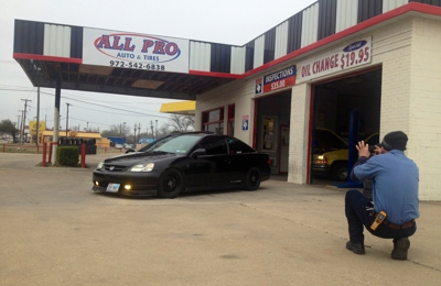 All Pro Auto & Tires 1312 N Tennessee St Mckinney TX
