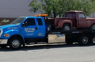 Tow Truck El Paso Tx >> Dependable Towing 5847 Waycross Ave El Paso Tx 79924 Yp Com