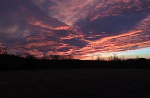 Sunrise at South Mountain Christian Camp