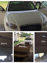 Audi A4- Before and After