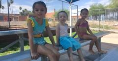 Catalina High School Pool - Tucson, AZ. Friends made
