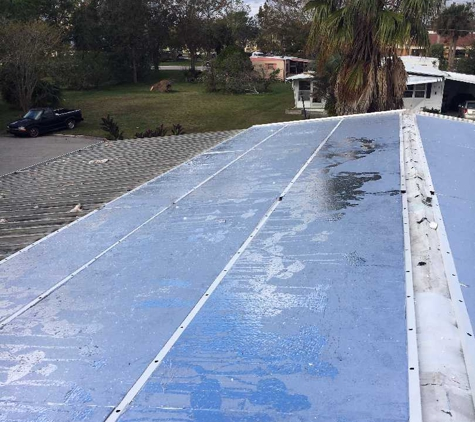Tomkatz Manufactured Home Services Inc. - Port Orange, FL. If you don't have the money to replace the whole roof, why not try our Roof Overs!!  They are absolutely Heaven on Earth and save you money!