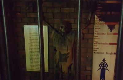 Slaughtered Lamb Pub - New York, NY. He had one too many...