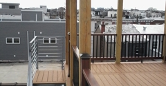 Elite Modern Construction - Philadelphia, PA. Rooftop Deck With Pergola in South Philly