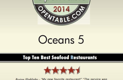 Oceans 5 Seafood Market and Eatery - Shoreham, NY