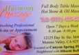 Harmony Massage - Moreno Valley, CA