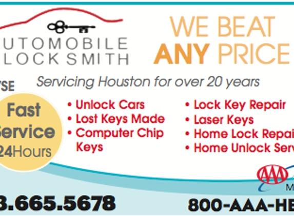 Automobile Locksmith - Houston, TX
