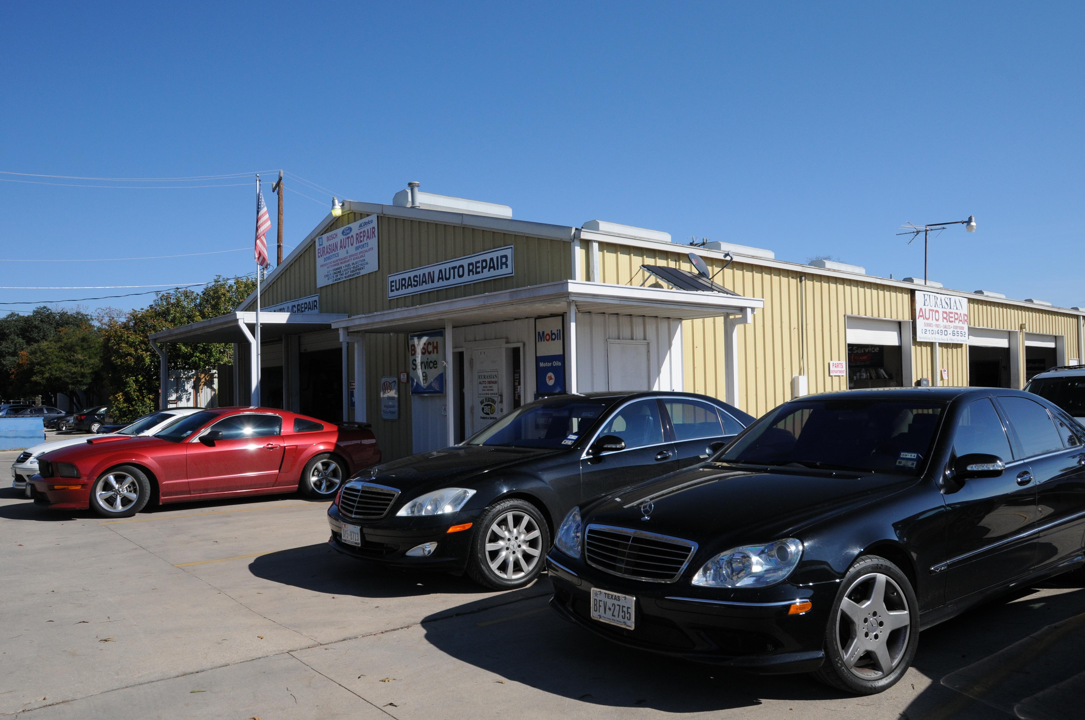 Eurasian Auto Repair 11234 Gordon Rd Ste 101 San Antonio