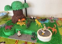 Sweetly Wild - Milford, OH. SAFARI MICKEY ANIMAL KINGDOM TREE OF LIFE BABY SHOWER
