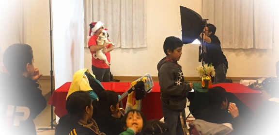 First Southern Baptist Church of Hollywood - Los Angeles, CA. Photo booth at our Christmas play and toy drive 2016.