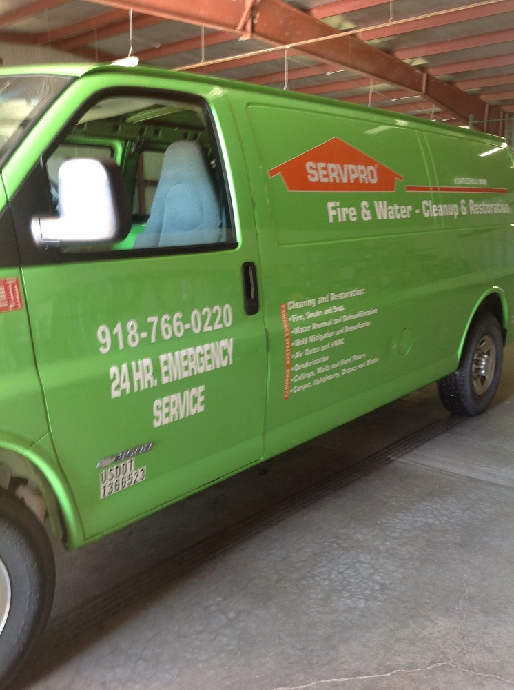 ServPro of Bartlesville/Miami 3815 Tuxedo Blvd, Bartlesville
