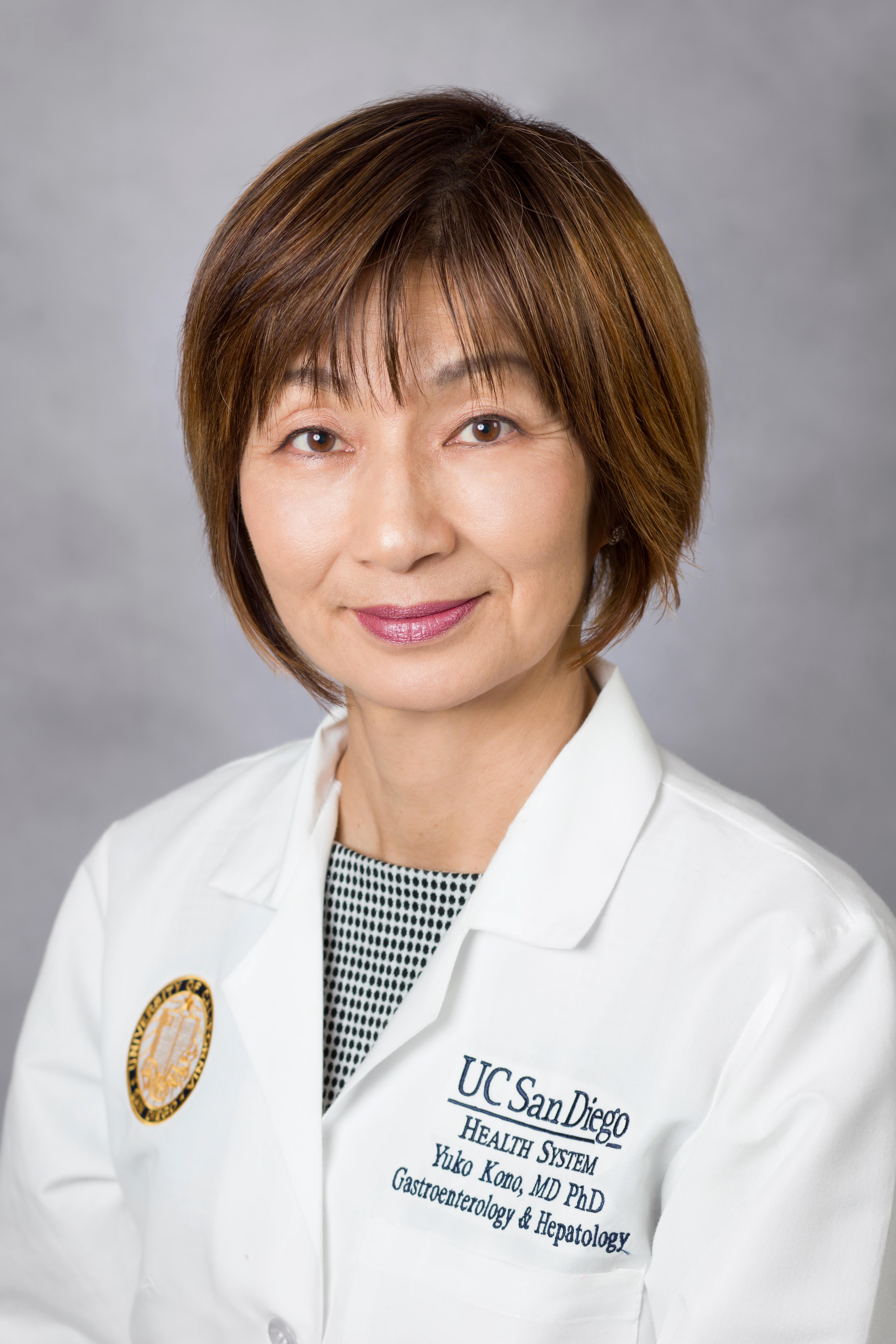 Yuko Kono, MD, PhD 4510 Executive Dr, San Diego, CA 92121