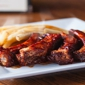 The Place Bar & Grill - Woodstock, GA. BBQ Ribs with fries