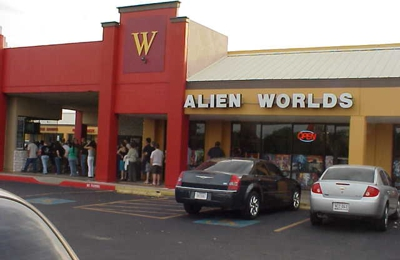Alien Worlds - San Antonio, TX