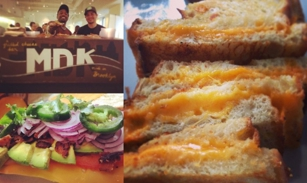 Grilled Cheese at MDK - Mrs. Dorsey's Kitchen in Brooklyn, NY