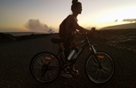 Electric Bike Rentals in Hawaii for Ocean Lava Entry Viewing