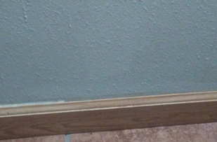 baseboards without caulking