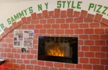 William E. Lewis Jr of Cooper City dining at Mr. Sammy's NY Style Pizza in Lake Placid, Florida.