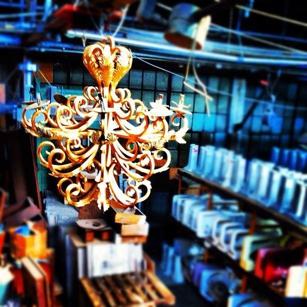 Olde Good Things chandelier