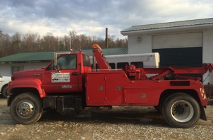Heavy towing and road service with full service garage
