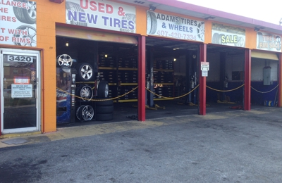 New Used Tires Wheels Rims In Orlando Fl Er Tire >> Adams Tires And Wheels 3420 S Orange Ave Orlando Fl 32806 Yp Com