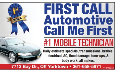 First Call Automotive Call Me First - Corpus Christi, TX