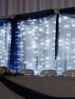 Lighted backdrop wall