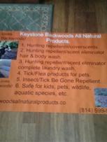 Banner arrived for 2018. Keystone Backwoods Rhonda West & Kat Haas approved